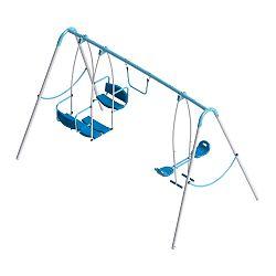 Detská záhradná hojdačka Triple Swing