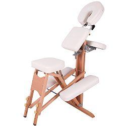 Masážna stolička inSPORTline Massy drevená