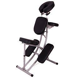 Masážna stolička inSPORTline Relaxxy hliníková