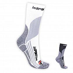 Multifunkčné ponožky inSPORTline COOLMAX & ionty striebra
