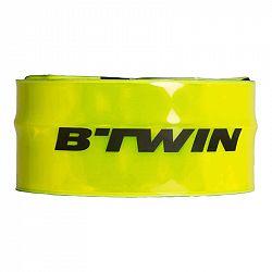 BTWIN Reflexný Pásik 500 žltý