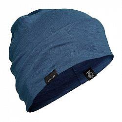 FORCLAZ čiapka Trek 500 Vlnená Modrá